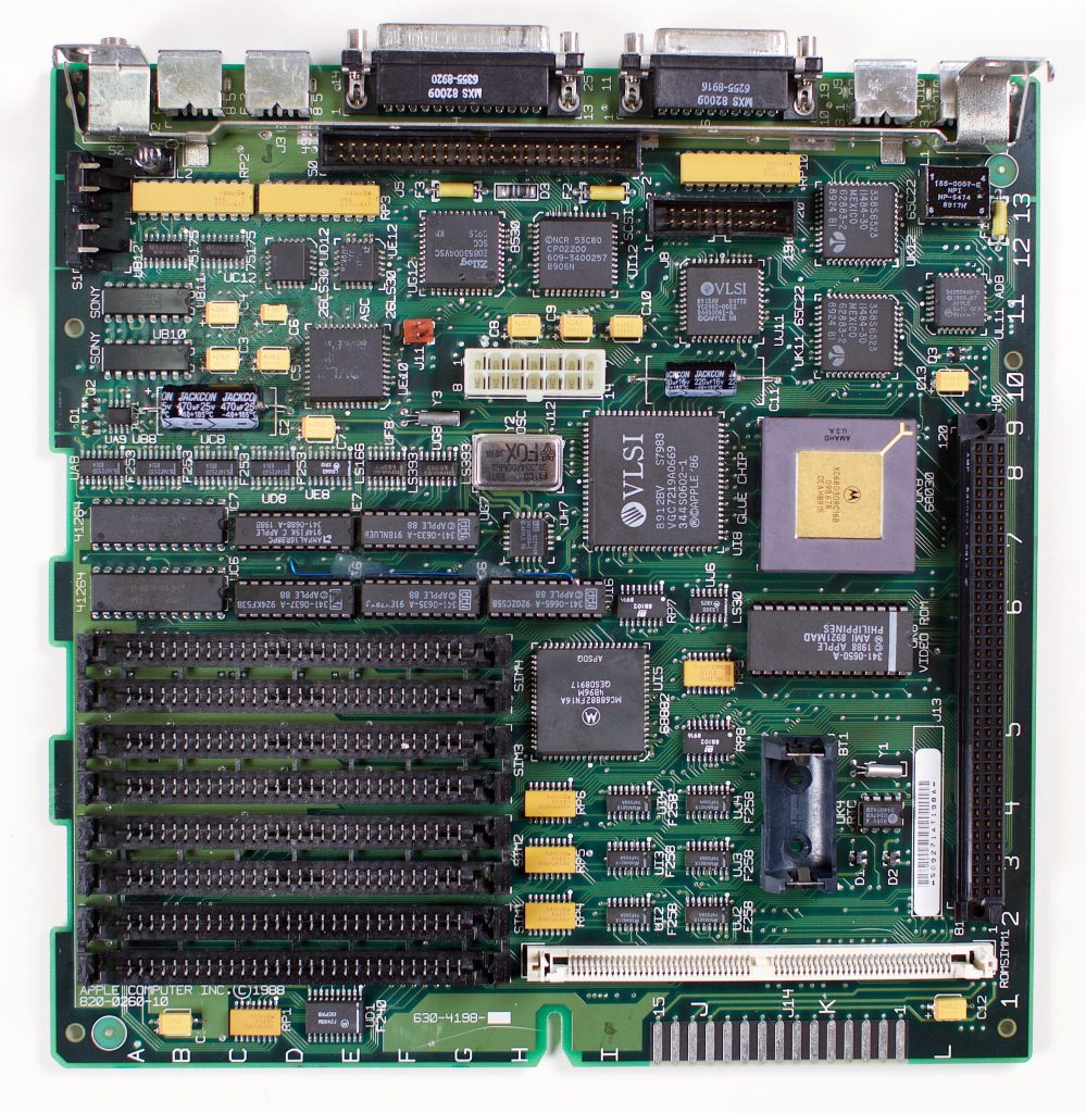 Macintosh SE/30 logic board