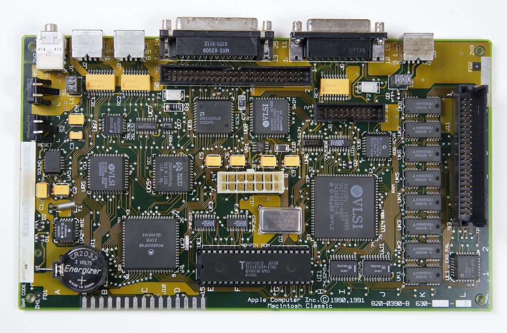 Macintosh Classic Logic Board