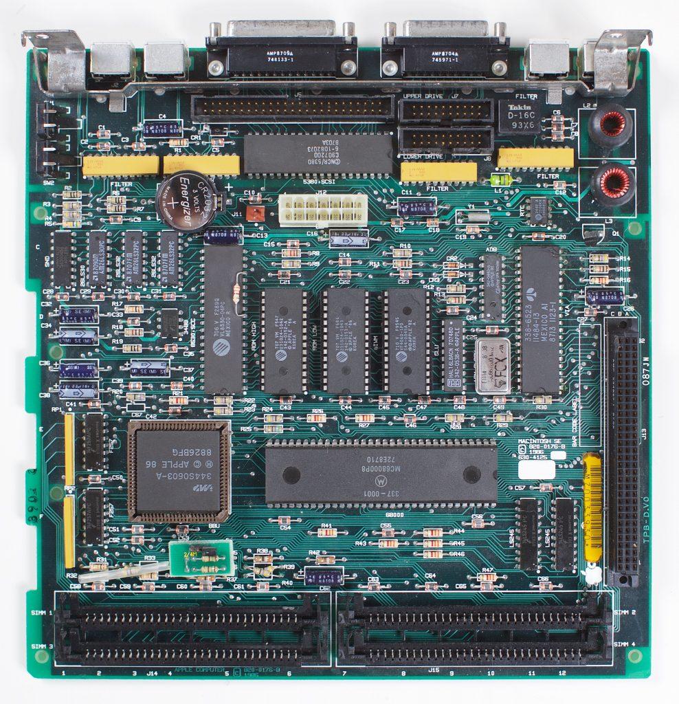 Macintosh SE Logic Board