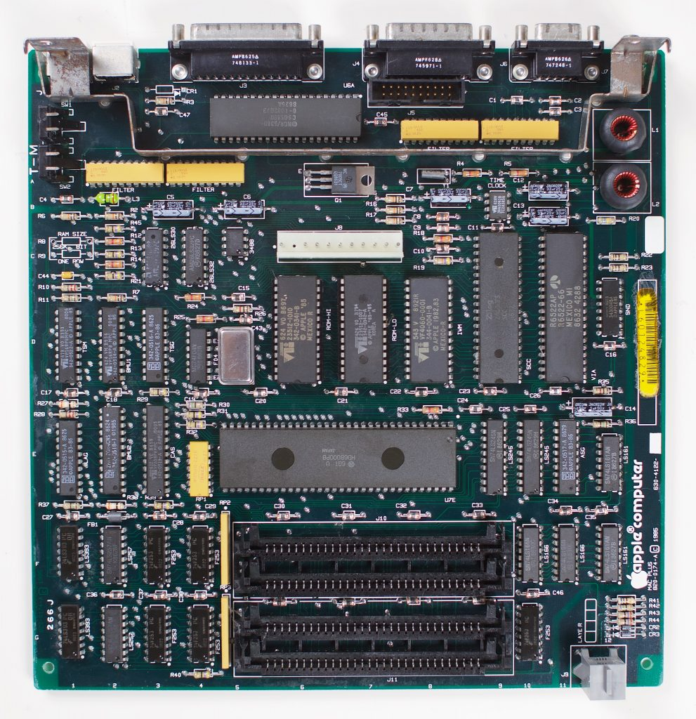 Macintosh Plus logic board
