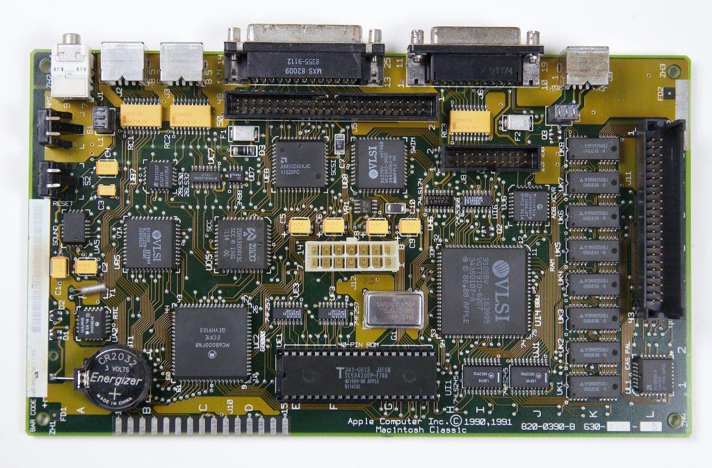 Macintosh Classic Logic Board